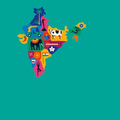 Ein Hauch von Indien