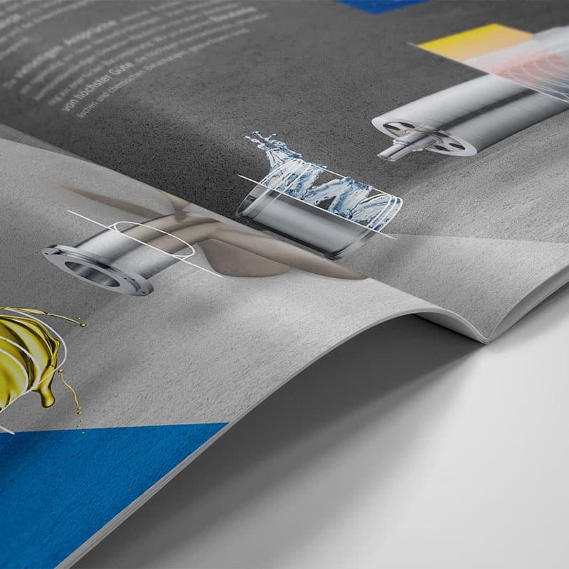 B2B image brochure