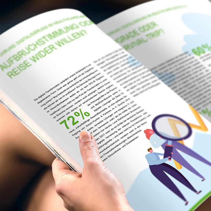Report brochures