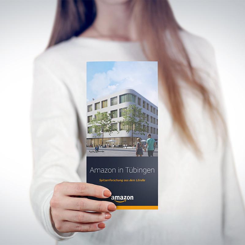 Amazon in Tübingen - Forschungsfolder