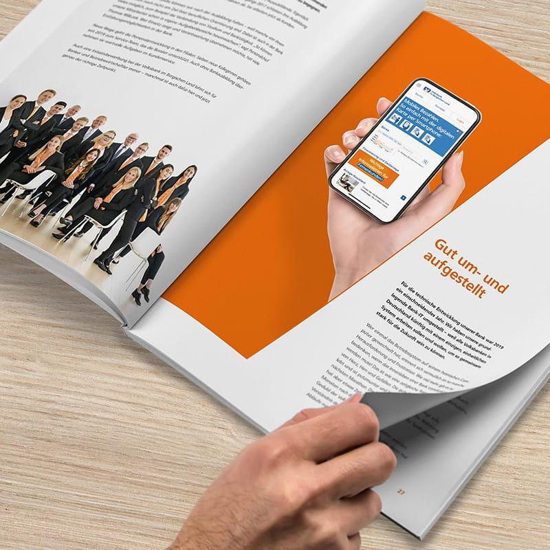 Ein Geschäftsbericht mit Zukunftsperspektive