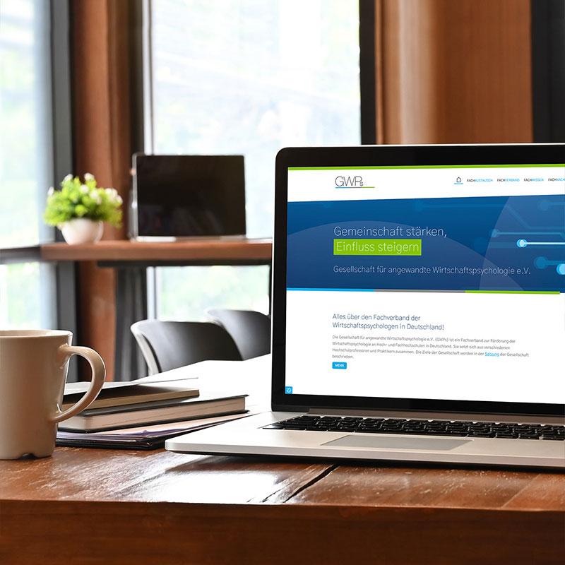 Gut organisiert: Ein Website-Relaunch für die GWPs